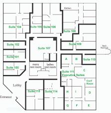 executive office suite floor plan in design decorating