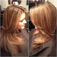 honey brown hair with caramel highlights hairstyle hits pictures