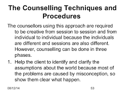Counseling Theories Techniques Theories Of Counselling And Psychotherapy