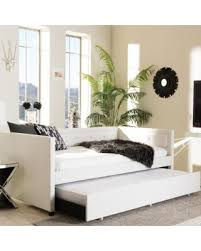 slash prices on baxton studio faux leather button tufted daybed