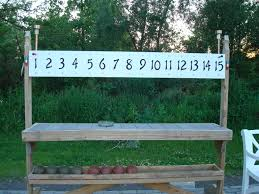 bocce ball scoreboard stuff i like pinterest backyard yards