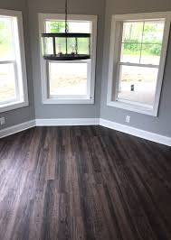 Distressed Flooring Laminate Distressed Luxury Vinyl Plank Flooring In Walkout Basement Lvp