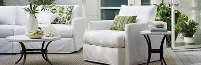 Slipcover Furniture Living Room Slipcovered Patio Furniture Lounge Crate And Barrel