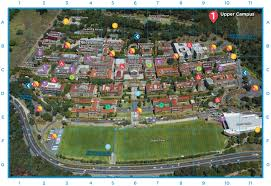 Washington University Campus Map by Campus Maps University Of Cape Town