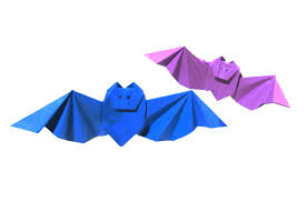 Bat For Halloween Halloween Origami Bat First Version Easy Origami Tutorial