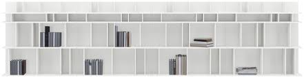 White Modular Bookcase by Modular Bookcase Wall Mounted Contemporary Wooden Como By