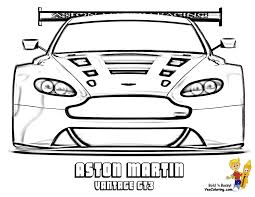 aston martin vantage gt3 side view you can print out this