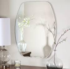 bathroom ovale designs bathroom mirrors with flower decor