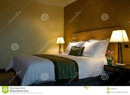 King Size Bed Hotel King Size Bed In A Five Star Hotel Suite Room Stock Photos Image
