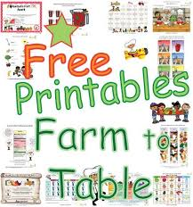 from farm to table farm to table food activities for kids fun healthy farm food