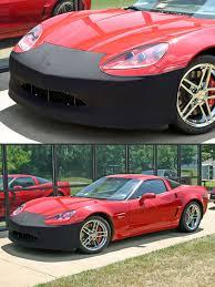 c5 corvette front spoiler corvette front bumper stretchbra cloth nose masks zip corvette