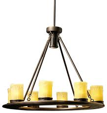 Bronze Landscape Lighting - kichler 15402 olde bronze oak trail 12v outdoor chandelier low