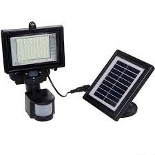 Home Depot Solar Motion Lights Greenlighting 120 Degree Black Solar Pir Motion Sensor Outdoor
