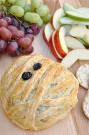 Halloween Dips Appetizers by Halloween Appetizer Mummy Baked Brie