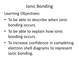 ionic compounds by gerwynb teaching resources tes
