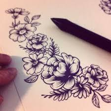 tattoo flower drawings 102 best tattoo images on pinterest tattoo ideas small tattoos