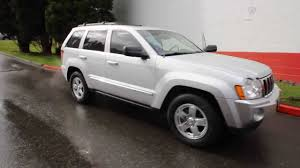 2006 jeep grand cherokee limited 5 7l v8 billet silver