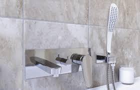 taps foxwood bristan claret wall mounted bath shower mixer