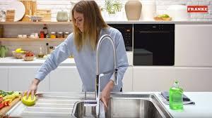 How To Clean Kitchen Sink Franke Kitchen Systems - Cleaning kitchen sink