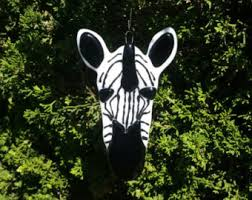 zebra ornament etsy