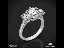 engagement ring settings only 3 swan diamond engagement ring by vatche 1463