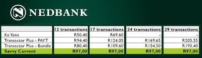 cheapest bank accounts in sa