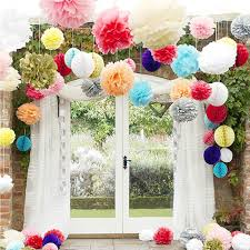 wedding decorations colored paper flower ball wedding marriage