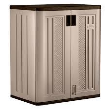 Bathroom Outstanding Garage Base Cabinet Bathroom Engaging Suncast Storage Cabinet Tools Garage Plastic