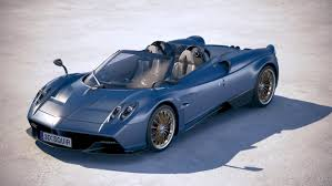 pagani huayra 2018 3d model pagani huayra roadster turbosquid 1168509