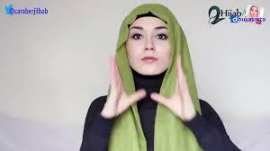 tutorial hijab nabiilabee hijab tutorial elegant throwback hijabapp nabiilabee video