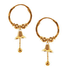 gold ornaments ear rings gold jewellery