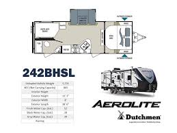 2018 dutchmen aerolite 242bhsl by keystone rv bourbon mo