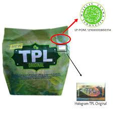 Teh Tpl logo lp pom mui new tpl original