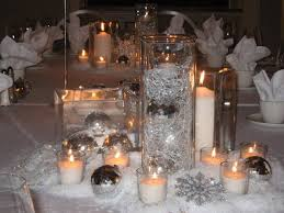 winter wedding centerpieces winter wedding centerpieces with candles elite wedding looks