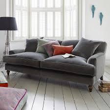 Cream Velvet Sofa Best 25 Grey Velvet Sofa Ideas On Pinterest Gray Velvet Sofa