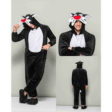 Tom Jerry Halloween Costumes Kigurumi Retail Outlet Tom Jerry Tom Pajamas Animal Onesies
