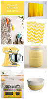 Yellow Kitchen Walls by Best 25 Yellow Kitchen Accents Ideas On Pinterest Diy Yellow