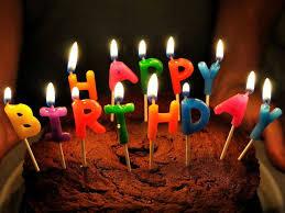 birthday candles on cake 1495 events hd desktop wallpaper