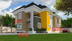 9 Nigerian Architectural Design Homes Contemporary Nigerian Architectural Designs For Houses In Nigeria