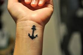 cute anchor tattoo on wrist tattoo designs tattoo pictures