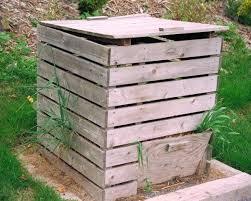 komposter fã r balkon die 25 besten wooden compost bin ideen auf