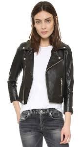 biker coat ganni biker jacket shopbop
