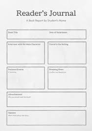 rehearsal report template black and white simple newspaper book report templates by canva