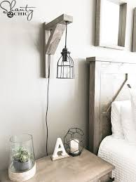 How To Make A Sconce Light Fixture Diy Corbel Sconce Light For 25 Shanty 2 Chic