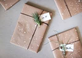 brown gift wrapping paper 10 brown paper gift wrapping ideas how to simplify