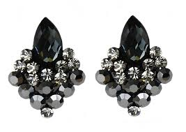 black earings 15 lovely designs of black earrings mostbeautifulthings
