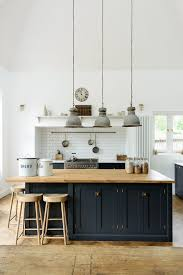 navy blue and white kitchen cupboards you considered using blue for your kitchen cabinetry