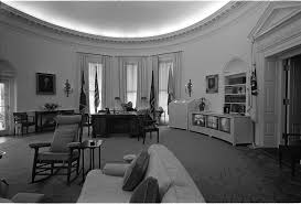 file president johnson watches tv in the oval office jpg