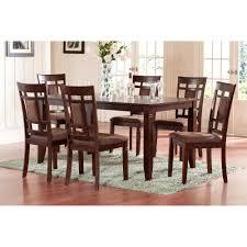 bold design 7 piece round dining room set picturesque