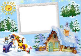 winter photo frame craft galleryimage co